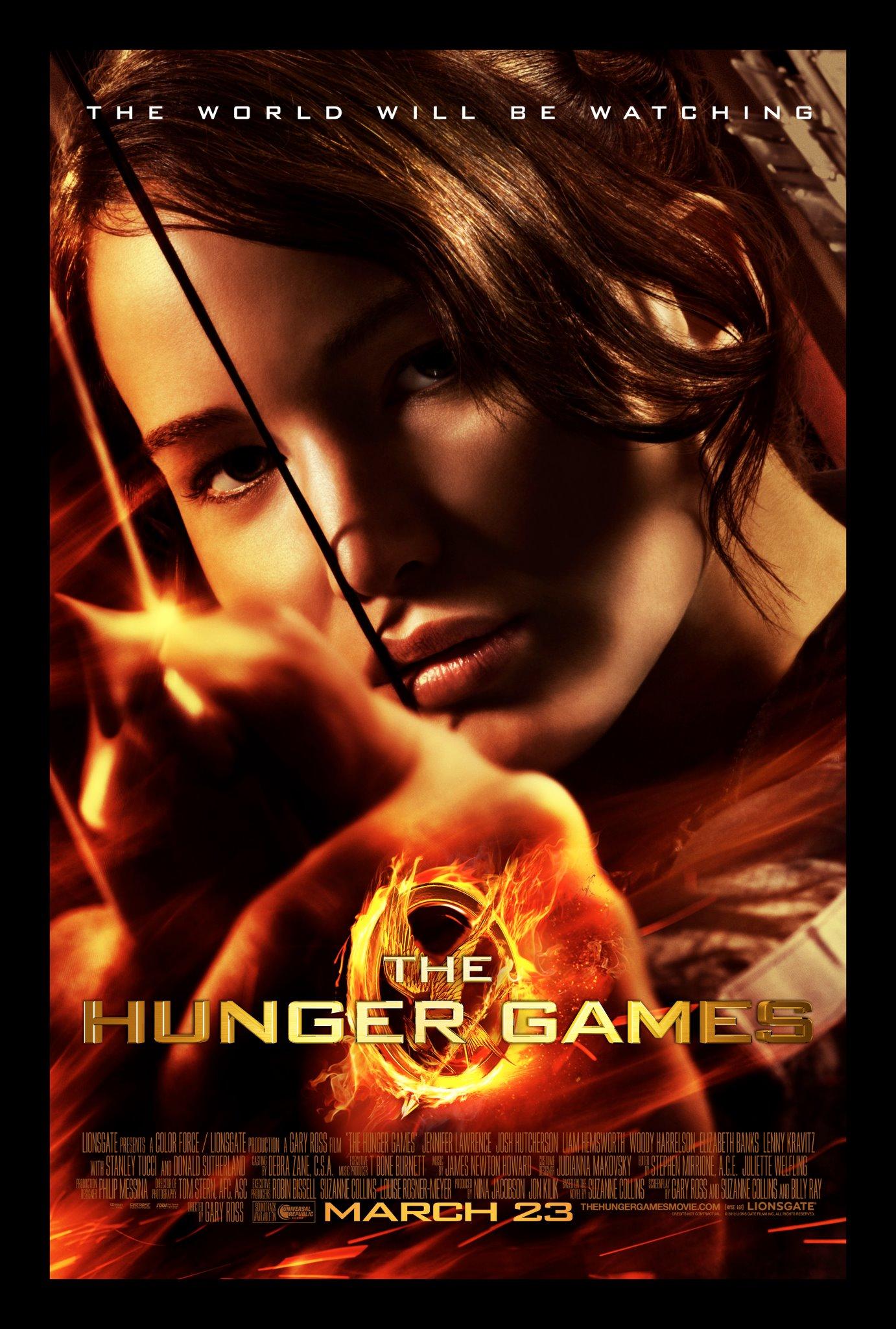 the-hunger-games-the-world-will-be-watching-katniss-everdeen-shot-arrow-poster