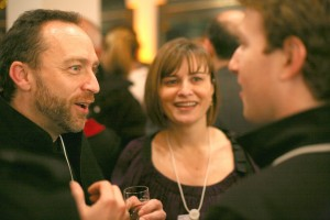 jimmy wales zuckerberg sandberg sheryl doing a bit of networking