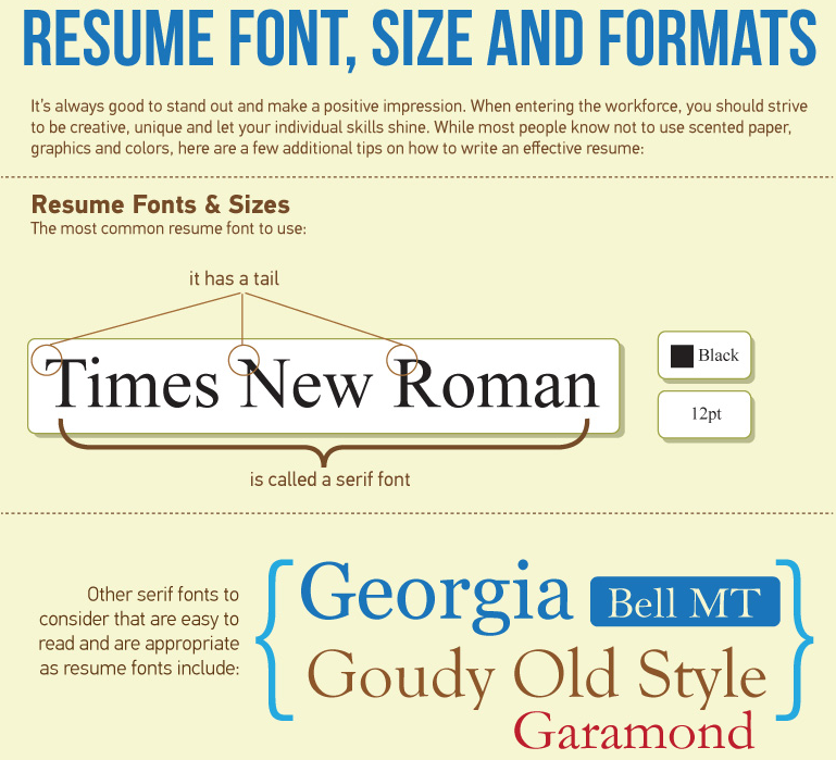 what is the best resume format?