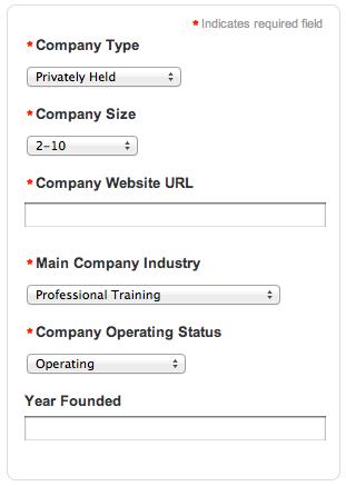 LinkedIn Company Details