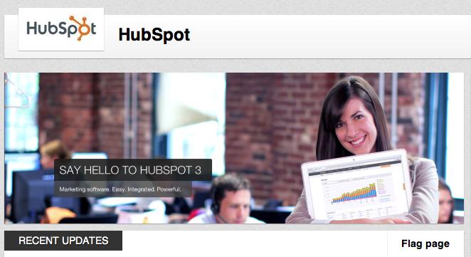 HubSpot Linkedin Company Page