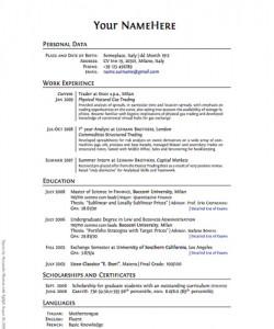 resume recruiters read