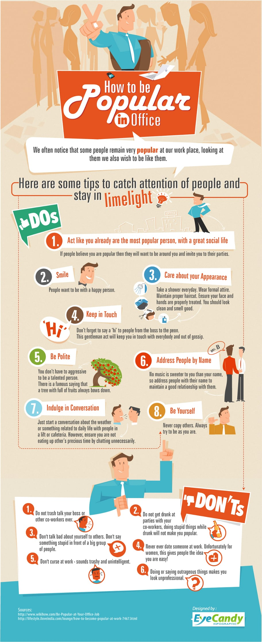 how-to-be-popular-in-office