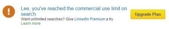 commercial-search-limit-on-LinkedIn
