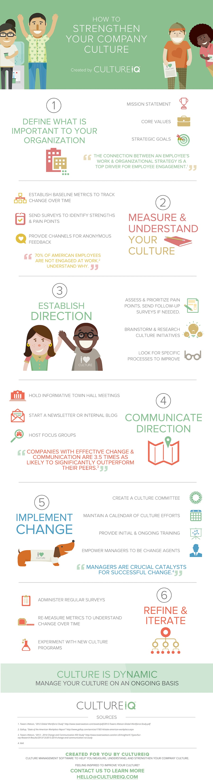 how to create a strong company culture infographic culture company
