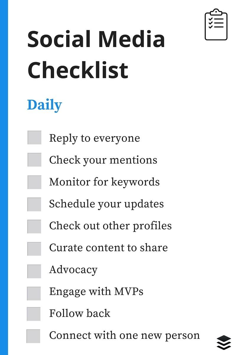 daily-social-media-checklist