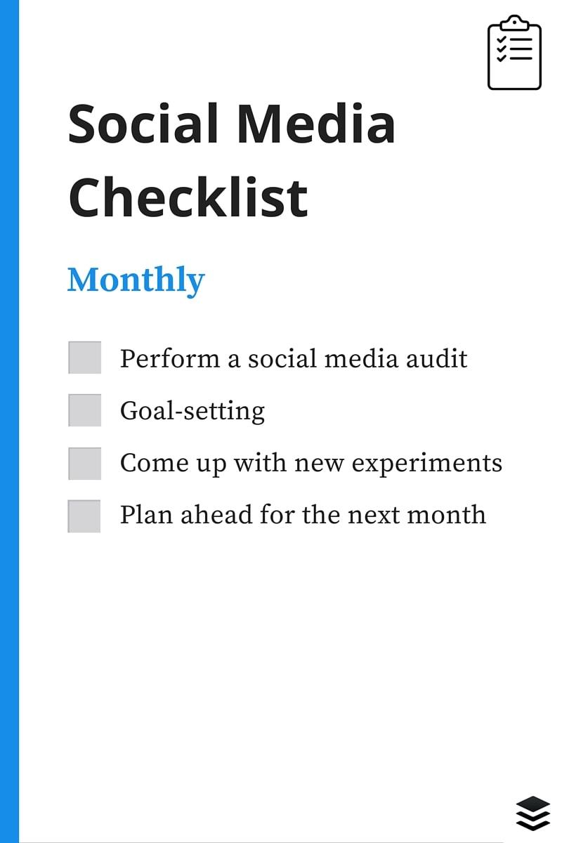 monthly-social-media-checklist