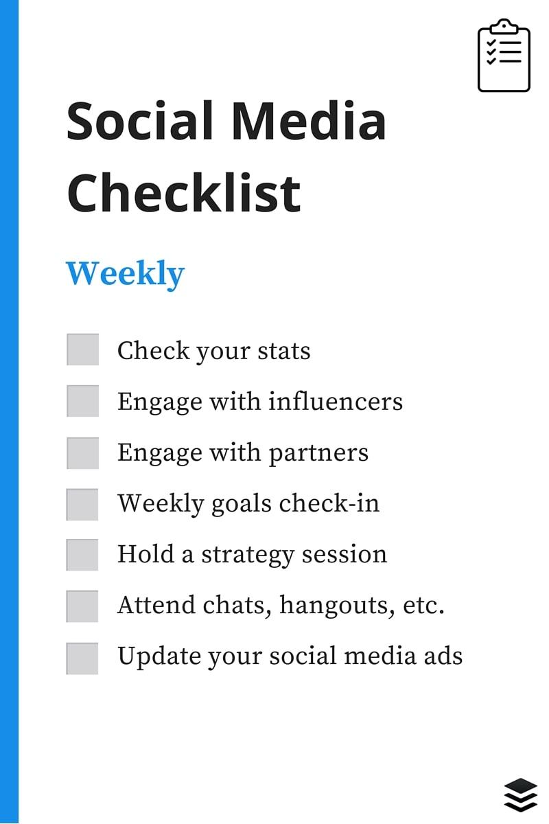weekly-social-media-checklist