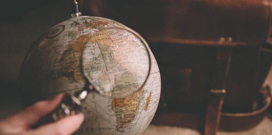 magnify-globe