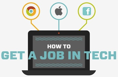 How To Get a Job at Google, Facebook or Apple [INFOGRAPHIC]